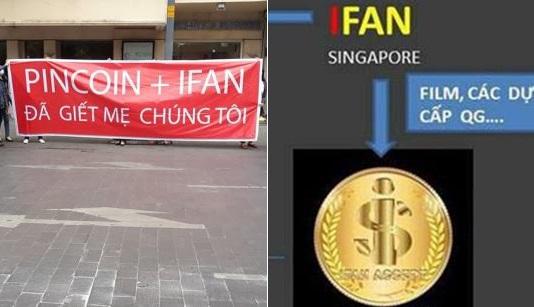 32 nghìn người bị lừa đảo bằng tiền ảo iFan và Pincoin tổ chức biểu tình ở TP HCM
