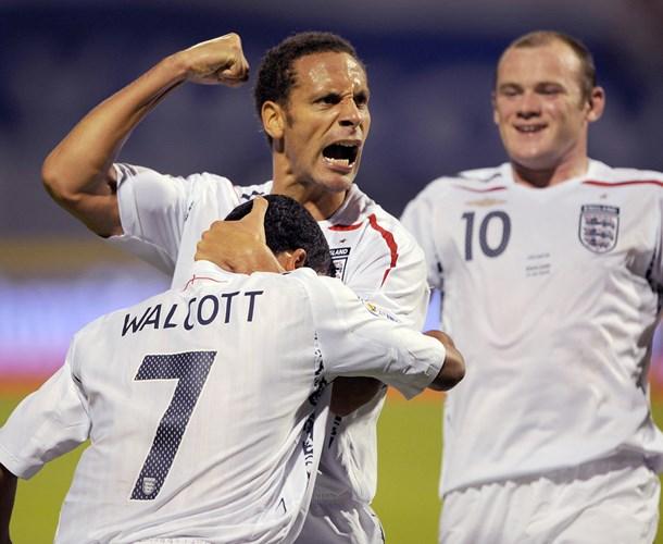 """Ngày 10/9/2008, Anh nhanh chóng """"rửa hận"""" với chiến thắng 4-1 trước Croatia tại vòng loại World Cup 2010 trên sân khách."""