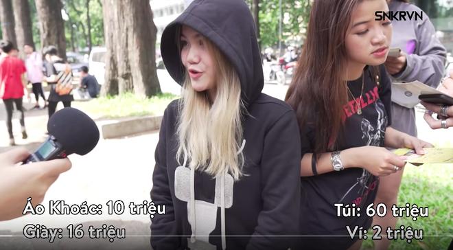 Trần Huỳnh Giao sinh năm 2001 tại TP Sa Đéc, Đồng Tháp. Cô bạn mặc nguyên set đồ 88 triệu đồng đến sự kiện Sneaker Fest 2018 khiến mạng xã hội dậy sóng.