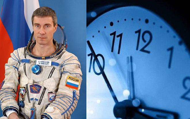 Du hành thời gian là có thật: Một phi hành gia đang giữ kỷ lục du hành thời gian nay đã 60 tuổi