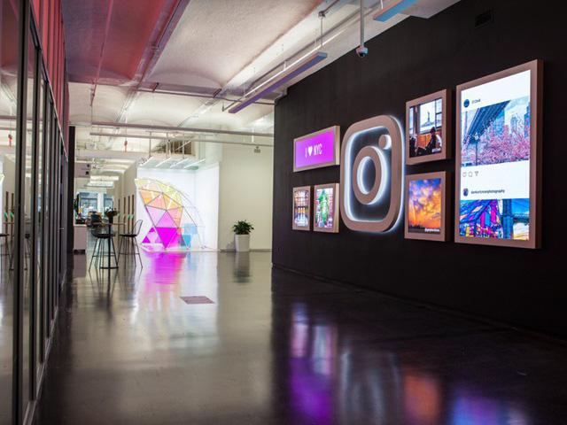 """Instagram thật xứng danh mạng xã hội """"sống ảo"""" với trụ sở đầy góc """"sống ảo"""" tại New York"""