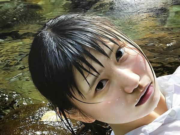 Chỉ đến khi Kei tiết lộ sự thật bằng cách đăng ảnh chụp cận những nét vẽ, mọi người mới nhận ra và tài năng của cô họa sĩ. (Ảnh: Tiin.vn)