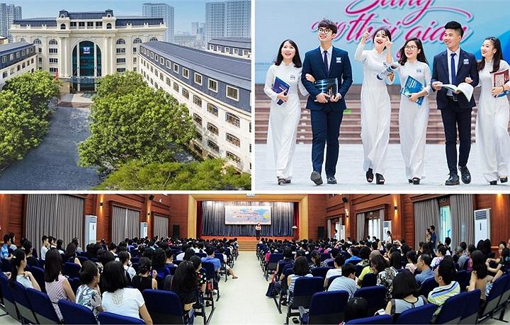 Ngỡ ngàng vẻ đẹp ngôi trường phổ thông dân lập đầu tiên của Hà Nội đạt chuẩn quốc gia