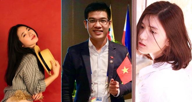 Những gương mặt nổi bật đại diện Việt Nam tham dự Tàu Thanh niên Đông Nam Á - Nhật Bản 2018