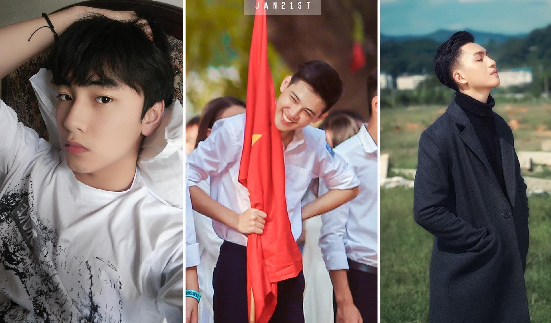 Top 5 nam sinh đẹp trai hot nhất mạng xã hội năm 2017