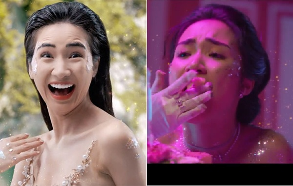 Làm MV cho trẻ em mà ăn mặc hở hang, điệu cười man rợ, Hòa Minzy bị chỉ trích gây tranh cãi