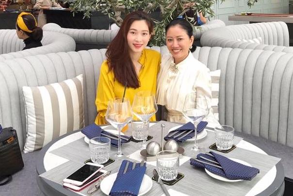 Rộ tin Hoa hậu Đặng Thu Thảo có bầu sau 3 tháng kết hôn với chồng đại gia?