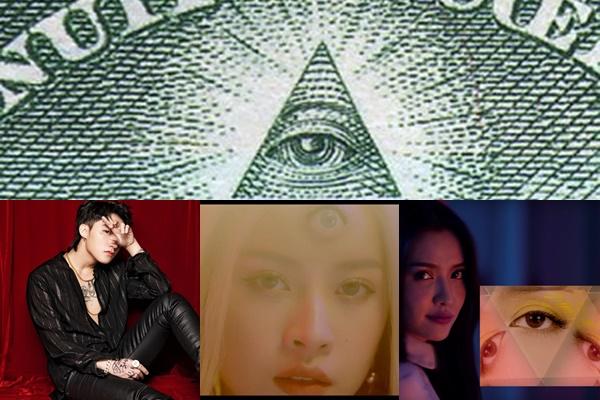 Để ý kỹ sẽ thấy MV Sơn Tùng, Bích Phương, Chi Pu có điểm chung đáng sợ của thành viên Hội kín Illuminati