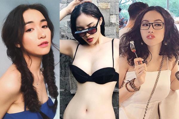 """Đại chiến """"hai dây"""" bùng nổ: Angela Phương Trinh chuyển từ ngậm hoa sang ngậm kem, Hòa Minzy để lộ khe ngực đầy quyến rũ"""