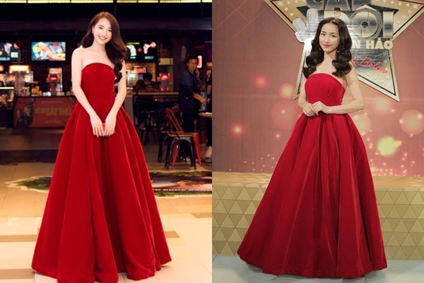 """Không còn """"thảm họa"""", vừa mặc lại váy cũ, vừa đụng hàng Nhã Phương nhưng Hòa Minzy vẫn đẹp bất chấp"""
