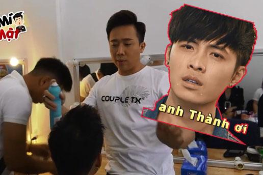 """MC Trấn Thành trổ tài làm tóc hóa """"mỹ nam"""", Gin Tuấn Kiệt nhận cái kết """"cạn lời"""""""