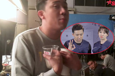 """Quyết tâm giảm cân đến cùng, Trấn Thành bị Hari Won bóc phốt """"làm trò"""" ngay trước cộng đồng mạng"""
