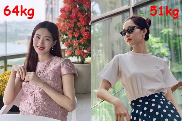 Giảm cân thần tốc 13kg sau sinh, Hoa hậu Đặng Thu Thảo diện đầm bó sát, người gầy nhẳng như thời con gái