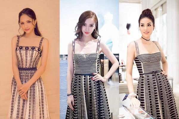 """Chỉ dám diện váy """"bản dupe"""", nhưng Hương Giang vẫn tự tin nhận mình đẹp như Angela Baby"""