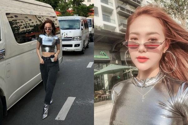 """Vừa đổi stylist, Minh Hằng bị cho mặc lại đồ """"của Sơn Tùng"""" lên phố?"""