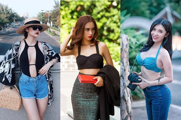 Chỉ là xuống phố thôi mà, các mỹ nhân Việt có cần nóng bỏng, khiêu gợi quá mức thế này không?