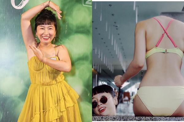 Đăng ảnh bikini khoe body 3 vòng nuột nà, Trang Hý cũng làm trò khiến ai nhìn cũng phát hoảng