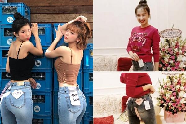"""Angela Phương Trinh lăng xê """"mạnh tay"""" mốt quần jeans cứ mặc vào là tự giảm 5kg mà chẳng cần tập gym, ăn kiêng"""