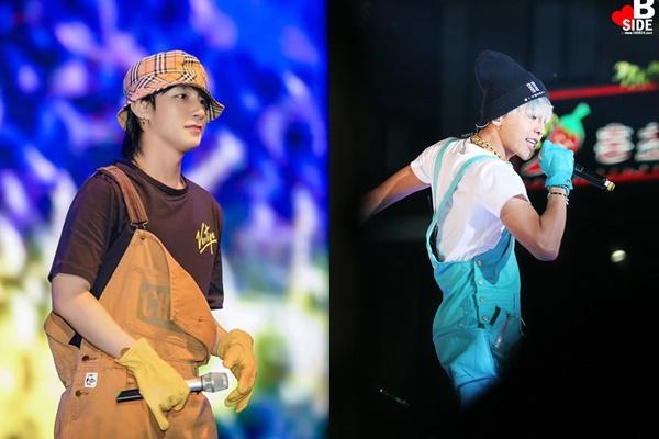"""Bộ đồ """"công nhân"""" cực độc của Sơn Tùng lại bị phát hiện """"mặc lại"""" của G-Dragon cách đây hẳn...6 năm?"""