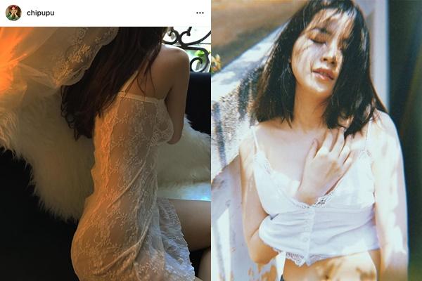 """Diện đầm xuyên thấu lộ """"nhũ hoa"""" ngày càng bạo, Chi Pu bị gắn mác """"gái hư Sulli"""" phiên bản Việt"""