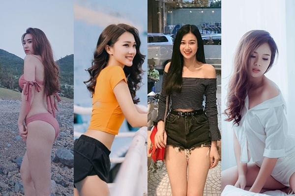 """Ngắm dàn bạn gái của các cầu thủ U23 Việt Nam bây giờ """"nóng bỏng"""" khác gì người mẫu Victoria-s Secret đâu cơ chứ"""