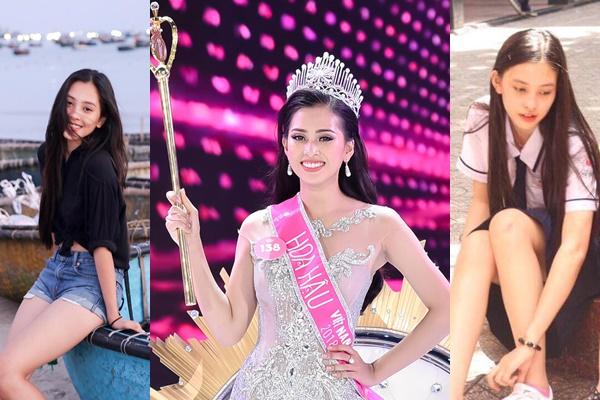 Lộ diện nhan sắc đời thường Tân Hoa hậu Việt Nam khiến nhiều khán giả không dám tin vào mắt mình