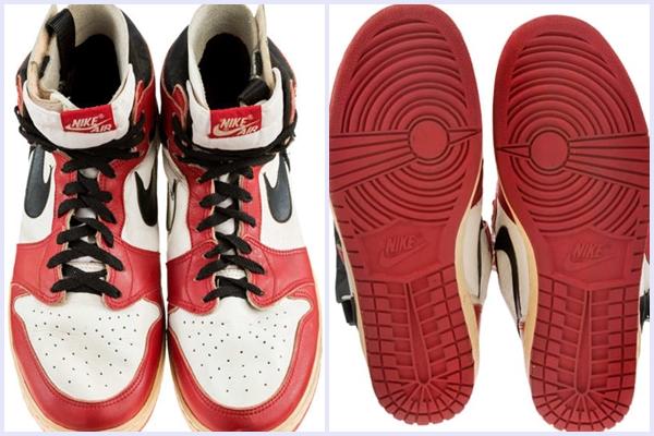 """Đôi Air Jordan 1 của """"Vua"""" Jordan xác lập kỷ lục khi chính thức được chào bán với giá 1 tỷ đồng"""