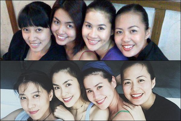 """Chân dung hội """"chị em bạn dì"""" của Tăng Thanh Hà, sau 10 năm biến thành """"hội bà mẹ bỉm sữa"""" xinh đẹp"""