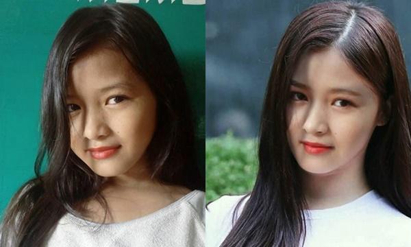 """Cận cảnh nhan sắc """"visual"""" nhóm Ponytail Girl, xinh đẹp không thua kém idol Hàn Quốc"""
