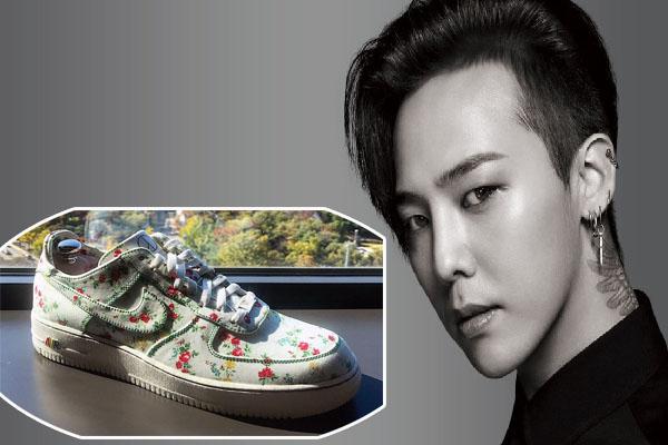 """G-Dragon được tặng đôi sneaker """"độc"""" nhất hành tinh vì giúp Nike """"cháy hàng"""" trong 1 phút"""