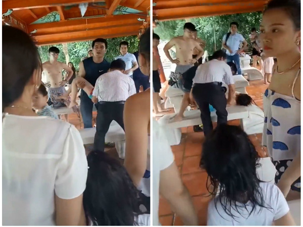 Kinh hoàng cảnh bé đuối nước bể bơi chỉ vì người lớn quá chủ quan
