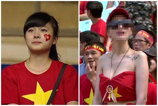 Khi các người đẹp bất ngờ nổi tiếng nhờ...xem bóng đá: Người thành hot girl, kẻ bị chê cười