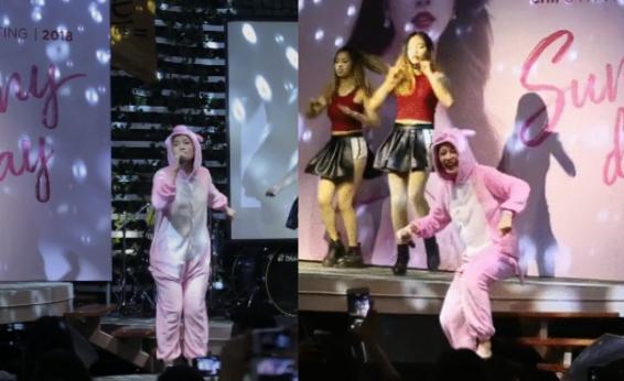 """Chán làm Gà, Chi Pu biến thành """"Lợn hồng"""" vùng vẫy trên sân khấu"""