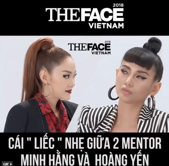 """Mới chỉ là trailer, Minh Hằng đã bị Võ Hoàng Yến """"lườm cháy mắt"""" vì dám """"đá đểu"""" đàn chị"""