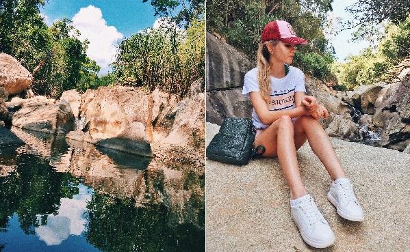 """""""Khuấy đảo"""" suối Ba Hồ sát vách Nha Trang cực đẹp với trò Cliff Jumping thử thách độ liều của chính bạn"""