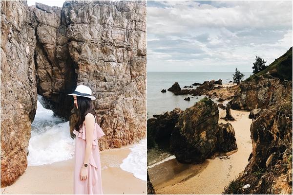 """Đến Quảng Bình mà không 1 lần ghé bãi biển kỳ lạ với cái tên """"Bãi Đá Nhảy"""" đẹp đến nín thở thì quá phí"""