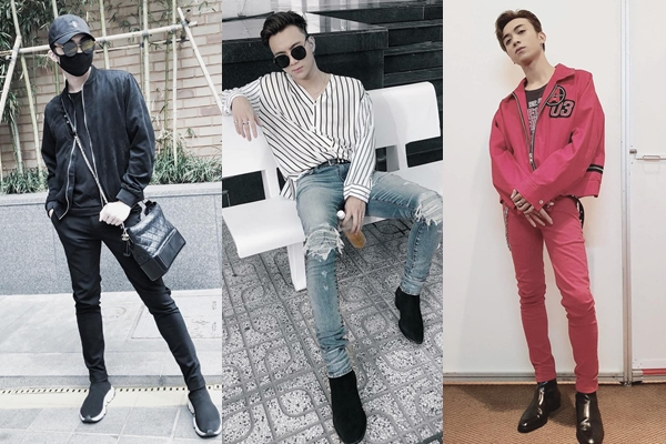 """Diện skinny jeans siêu bó mọi lúc mọi nơi: Từ hôm nay, hãy gọi Soobin Hoàng Sơn là """"ông hoàng quần bó chẽn"""" thế hệ mới"""