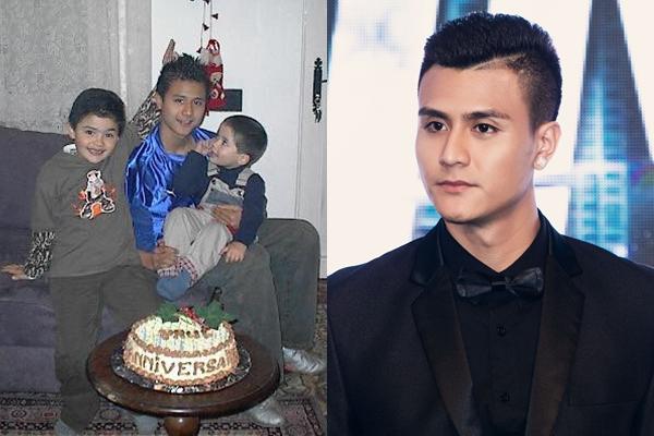 """Bức ảnh năm 15 tuổi của Vĩnh Thụy bỗng """"gây sốt"""" vì thần thái đẹp trai từ bé!"""