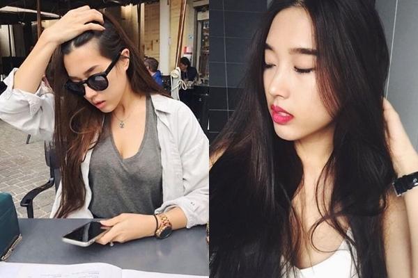 Cận nhan sắc bạn gái mới cực cá tính của Huỳnh Anh, đã xinh, giàu còn tâm lý thì ai cũng phải yêu thôi