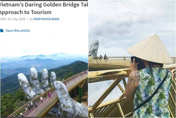 """Cầu Vàng - Đà Nẵng lại tiếp tục nhận """"cơn mưa lời khen"""" trên tạp chí phê bình kiến trúc uy tín top thế giới"""