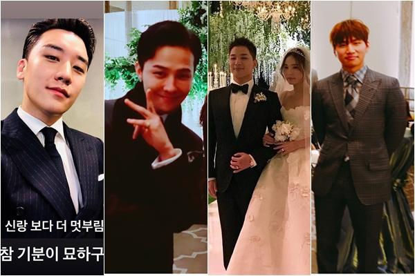 Im ỉm dự hôn lễ bí mật của Taeyang, các quý ông Big Bang vẫn thể hiện đẳng cấp bằng cả loạt hàng hiệu nghe giá mà choáng