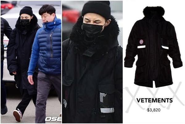 """Không hổ danh """"ông hoàng hàng hiệu"""", đi nhập ngũ mà G-Dragon vẫn diện áo khoác cả """"chục triệu"""", nhưng may là không đi giày giẫm gót nữa rồi"""