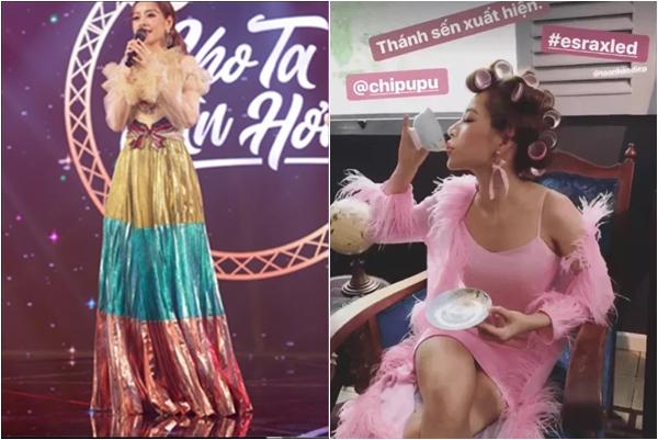 """Không để cho khán giả """"kịp thở"""", Chi Pu đã lại sắp tung ra MV """"thảm họa"""" thời trang khác"""
