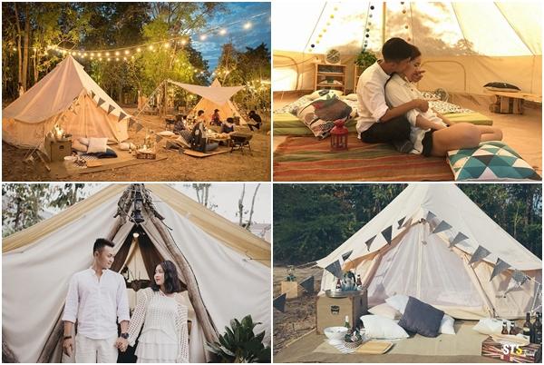 """Phát hiện khu camping đẹp tựa Mông Cổ chỉ từ 100k/người tha hồ """"sống ảo"""" giữa đảo tiên Cát Bà"""