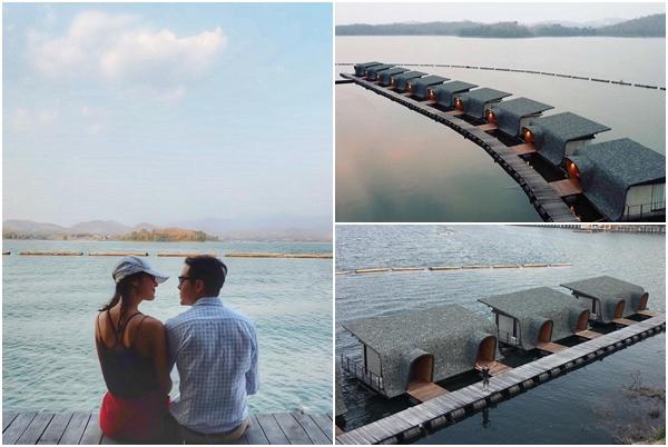 """""""Ngẩn ngơ"""" trước khu resort nổi trên mặt nước đẹp tựa Maldives ngay sát sịt Việt Nam"""
