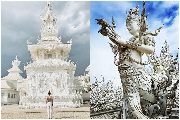 """Phát hiện ngôi đền trắng như tuyết đẹp """"phát hờn"""" khiến giới trẻ điêu đứng"""