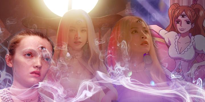 """Sau tất cả, hình tượng """"nữ thần 3 mắt"""" của Chi Pu là đạo nhái Gucci hay tín hiệu ngầm của Hội kín Illuminati?"""