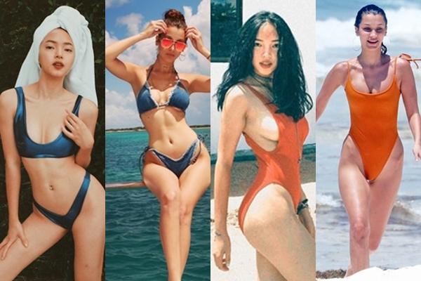 Mỹ có Bella Hadid thì Việt có Châu Bùi khẳng định đẳng cấp khi diện đồ bơi khoét hông cao hiểm hóc