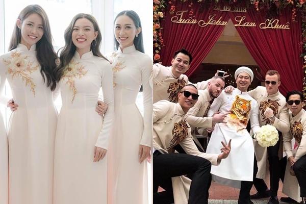 """Dàn phù dâu - phù rể từng gây sốt vì toàn """"trai xinh gái đẹp"""" trong đám cưới của sao Việt"""