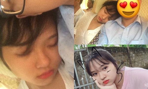Đã tìm thấy em gái xinh như mộng dựa mòn vai thanh niên từ Hòa Bình đến Hà Nội